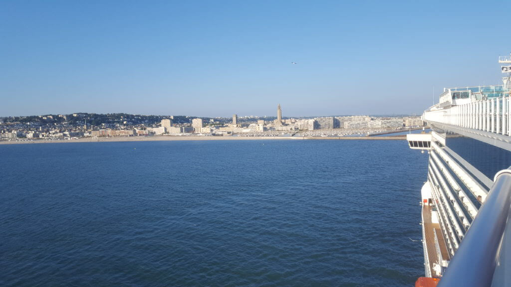 Escale port du Havre excursions cars visites guidées BLB Cruises