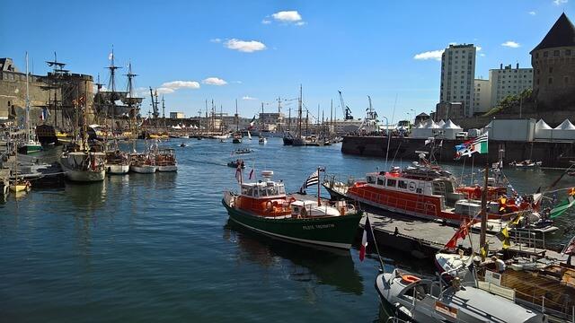Port de Brest escale croisiere BLB Cruises et Shorex