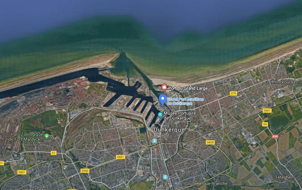 Dunkerque services portuaires croisière BLB