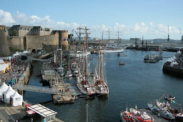 Port de Brest escale croisiere BLB Cruises